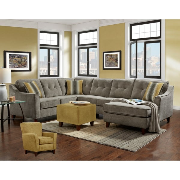 Kendall Sectional Sydney Gray