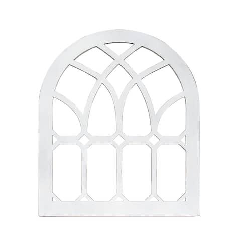 The Gray Barn Farmhouse Emerald Cathedral Window