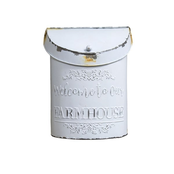 Welcome to our Farmhouse Post Box