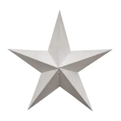 """Farmhouse White Barn Star 36"""""""