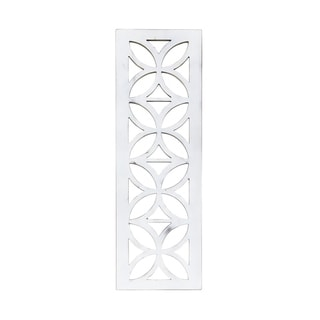 Distressed White Architectural Cutout