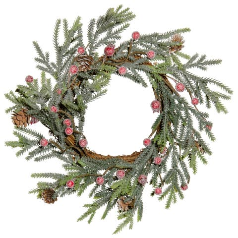 Mountain Pine with Berries Wreath