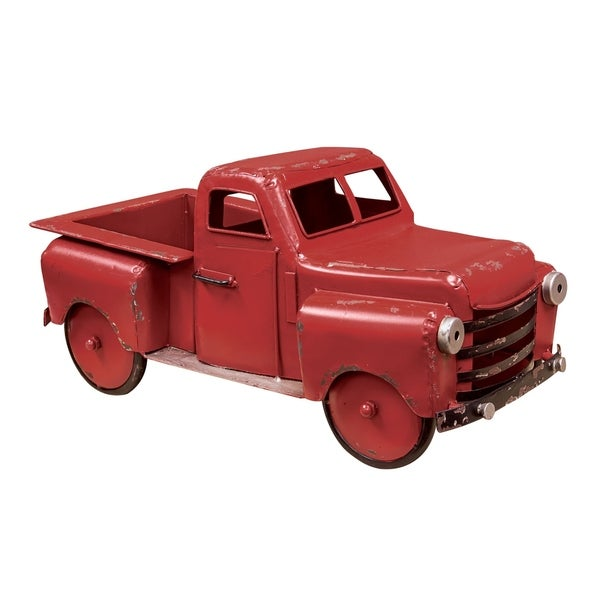 Red Farmhouse Truck