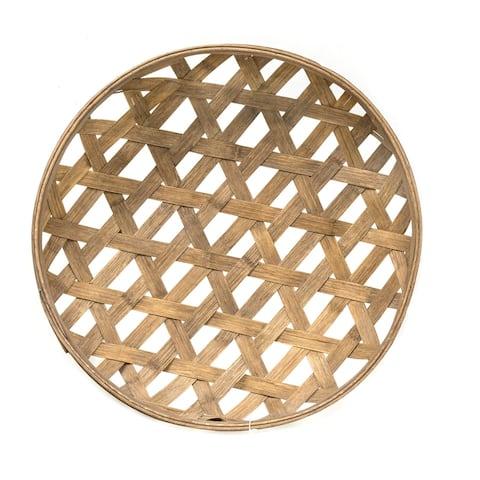 Round Tobacco Basket