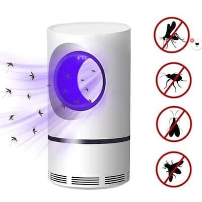 Photocatalytic 360 Ultraviolet Moqsuito Bug Fly Killer Fan Trap - Noiseless Pest Control Trap