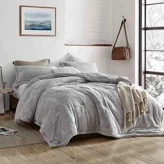 Link to Coma Inducer Oversized Comforter - The Original Plush - Silver Stone (Shams not Included) Similar Items in Comforter Sets