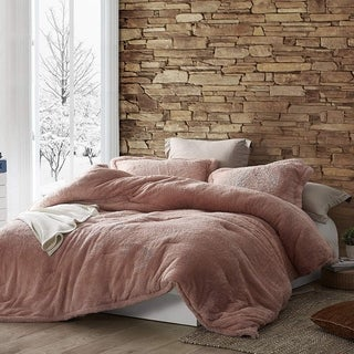 Link to Coma Inducer Oversized Comforter - The Original Plush - Sepia Rose (Shams not Included) Similar Items in As Is