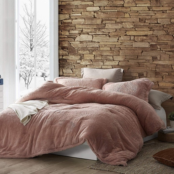 coma-inducer-oversized-comforter---the-original-plush---sepia-rose---king---original-plush-sepia-rose by byourbed