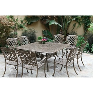 """9 Piece Dining Set, 60"""" Square Dining Table"""