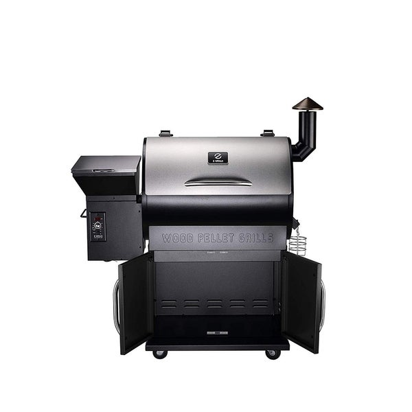 Moda Z Grill-700E Outdoor BBQ Smokers with Storage Cabinet