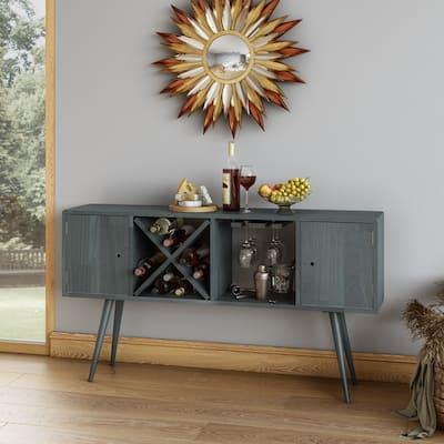 Carson Carrington Shorewood Mid-Century Modern Wood Sideboard