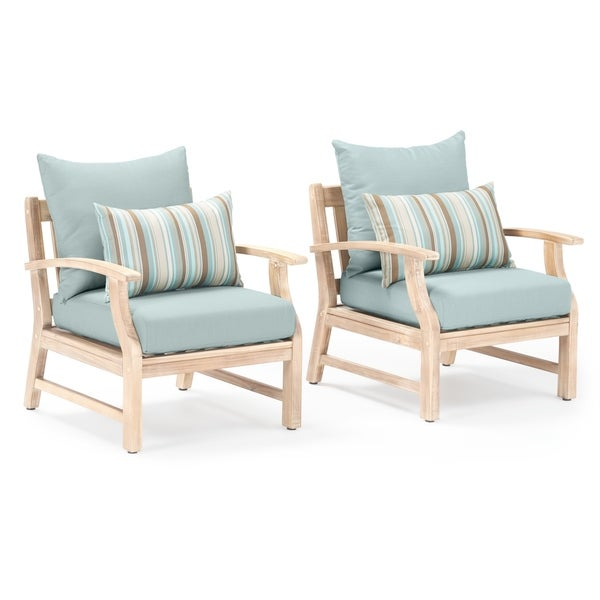Shop Kooper Club Chairs in Bliss Blue by RST Brands - On ... on Safavieh Ransin id=30538
