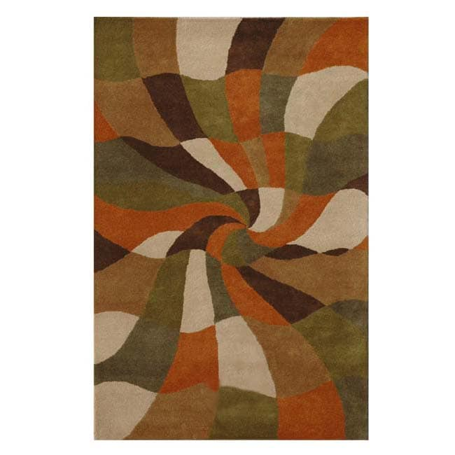 Hand-tufted Esquire Wool Rug - 8' x 10'6