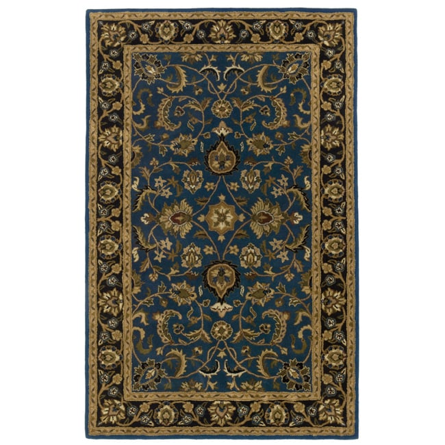 Handmade Elite Traditional Wool Rug (8' x 11') - 8' X 11'