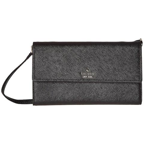 Kate Spade Womens Cameron Street Stormie Bag Wallet Black