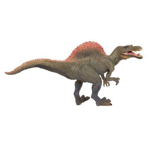 Realistic Plastic Toy Dinosaur Figure with Movable Jaw for Children Decoration