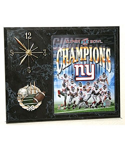 Superbowl XLII Champion Picture Clock