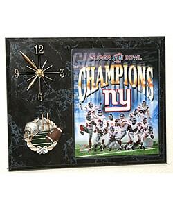 Superbowl XLII Champion Picture Clock