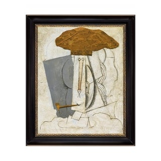 Link to Student with Pipe by Pablo Picasso 1914 Black Frame OIl Painting Canvas Print  28 In. x 34 In. Similar Items in Art Prints