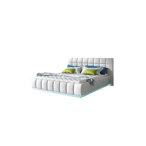 Prato Platform Bed, Queen Size