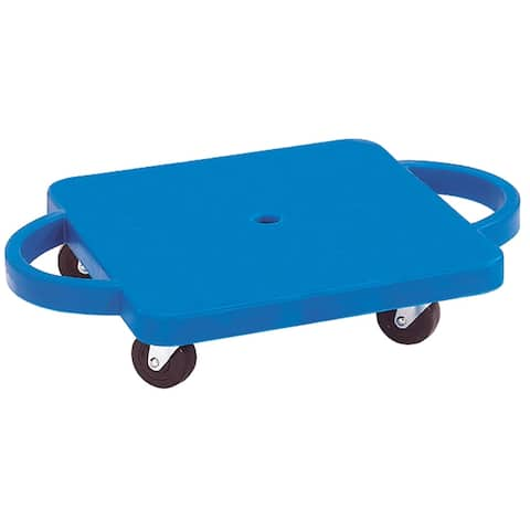 Dick Martin Sports Plastic Scooter with Handles, Blue