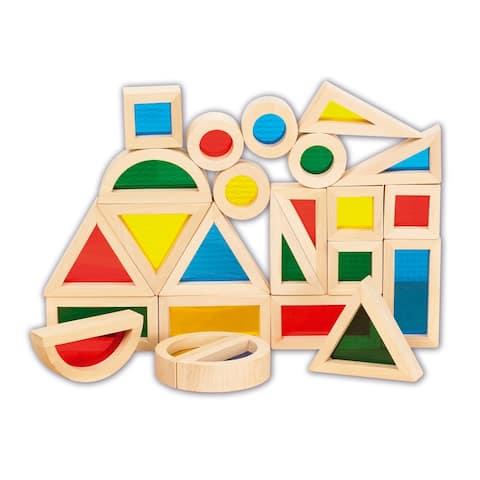 TickiT® Rainbow Blocks, Set of 24