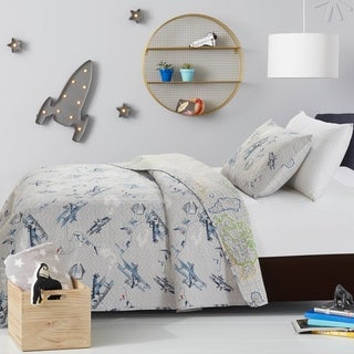 Link to Mari & Mac- Vintage Reversible Kids Quilt Set Similar Items in Kids Quilts & Coverlets