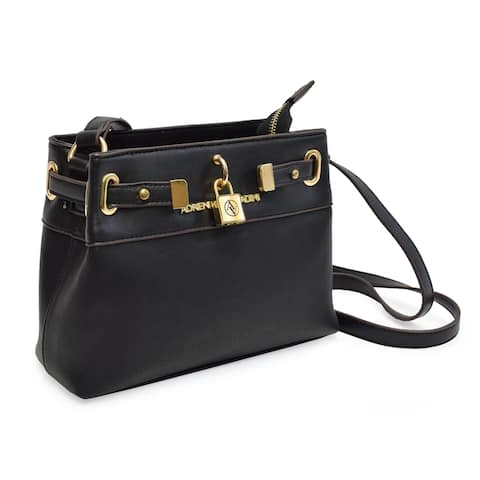 Adrienne Vittadini Belted Front Face Crossbody