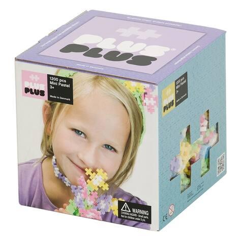 Plus-Plus® Open Play Set, Pastel, 1,200 Pieces
