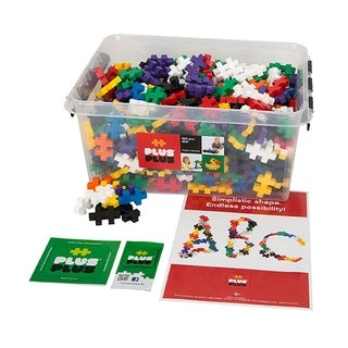 Link to Plus-Plus® Big Set, 600 Pieces in a Tub Similar Items in Building Blocks & Sets