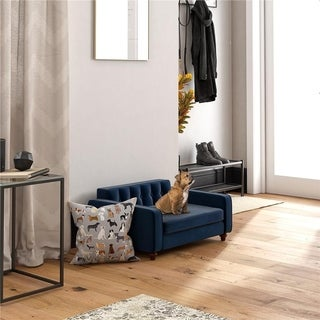 Ollie & Hutch Pin Tufted Pet Sofa