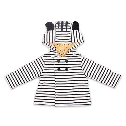 The Peanutshell Black and White Zebra Jacket, 6M