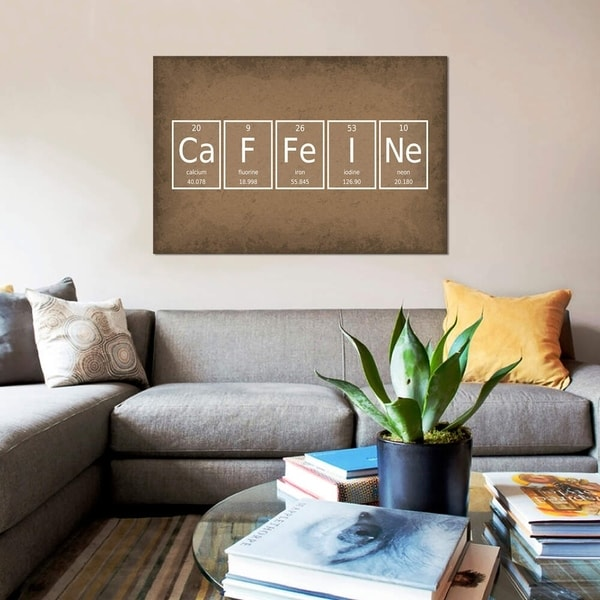 "iCanvas ""Caffeine"" by GetYourNerdOn Gallery-Wrapped Canvas Print"