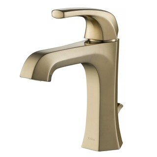 Kraus KBF-1211 Esta Single Handle Basin Bathroom Faucet,Lift Rod Drain