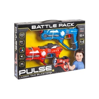Link to Pulse Laser Tag Blasters Battle Pack Similar Items in Outdoor Play