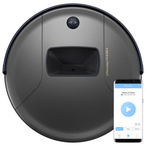bObsweep PetHair Vision Wi-Fi Connected Robotic Vacuum Cleaner - 13x13x3 in