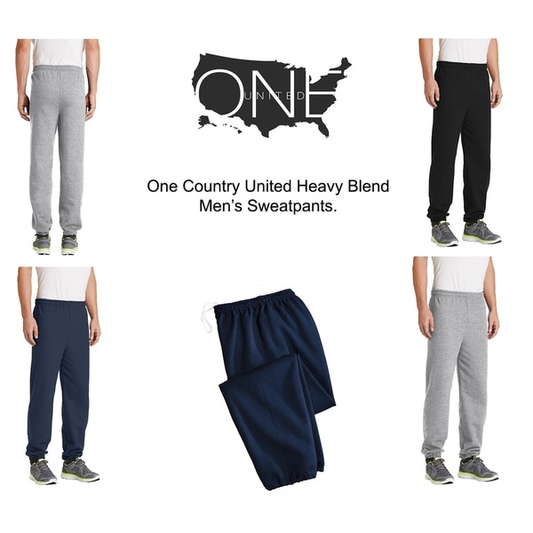 One Country United Heavy Blend Mens Sweatpants.