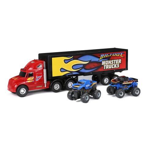 "22"" Radio Control Hauler with Big Foot Trucks"