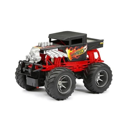 1:15 Scale R/C Hot Wheels Monster Truck Bone Shaker