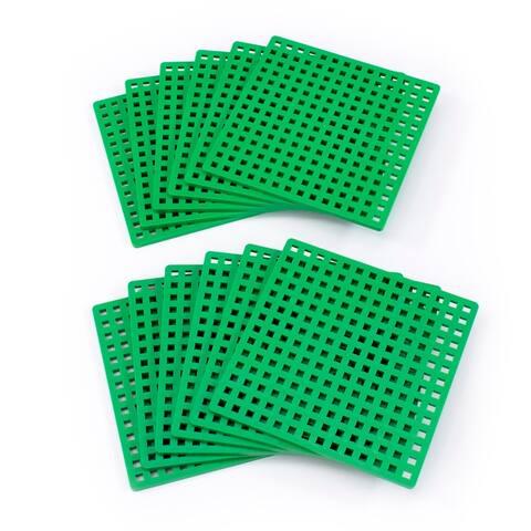 Plus-Plus® Baseplates, Classroom Pack, Set of 12