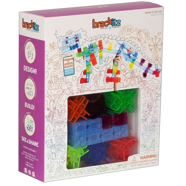 Brackitz Inventor 100 Piece Building Toy Set. Opens flyout.