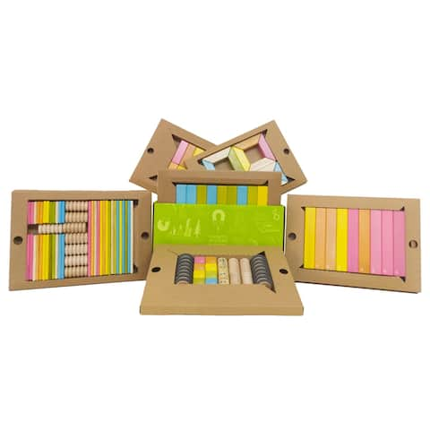 Tegu Classroom Wooden Block Kit