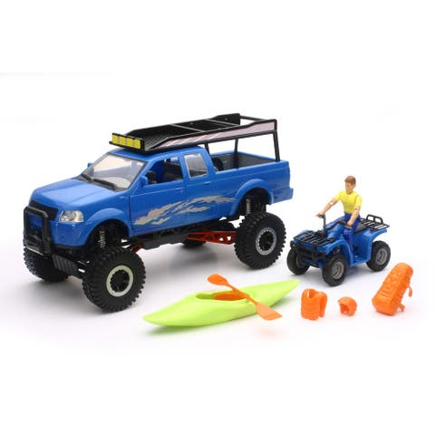 Xtreme Off Road Wheeled Pickup Truck Playset