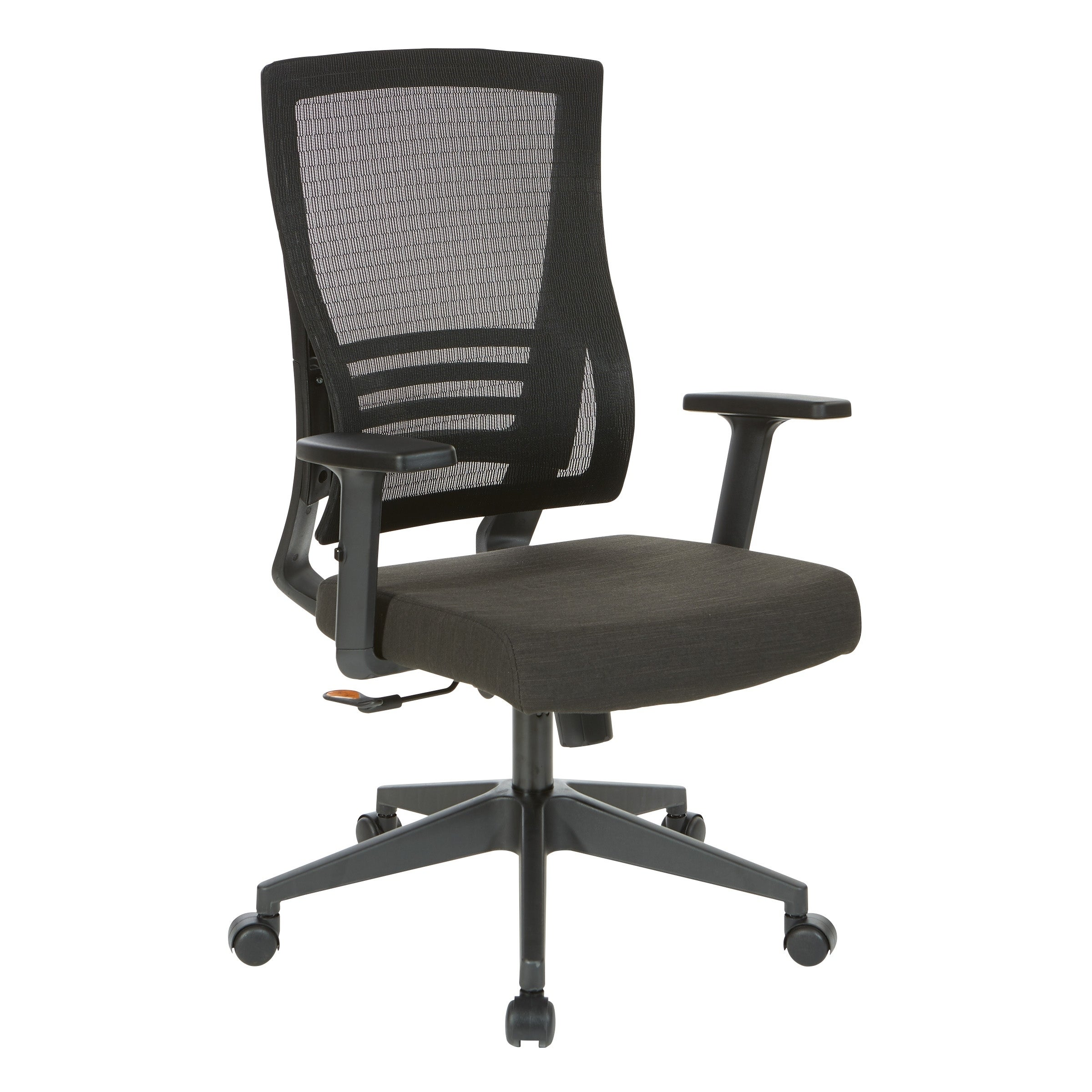 Mesh Back Office Chair With Black Frame