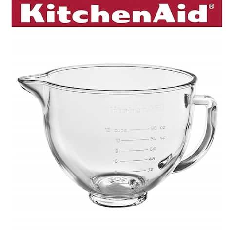 KitchenAid KSM5GB 5-Qt Glass Bowl Accessory - 5 Qt