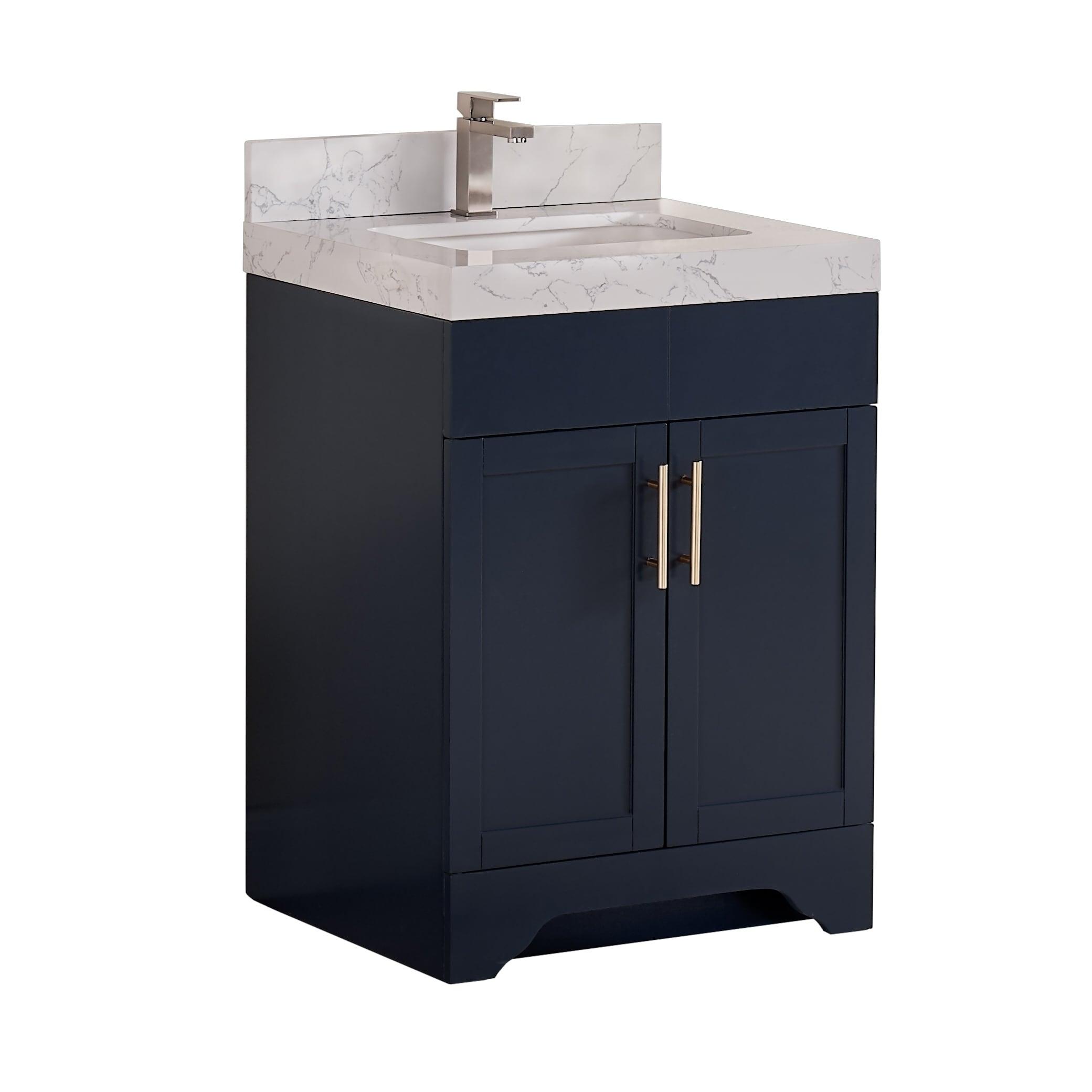 Shop Copper Grove Dian 24 Inch Single Sink Bathroom Vanity Set