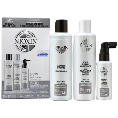 """Nioxin System No.1 """"Trial"""" Kit For natural hair with light thinning"""