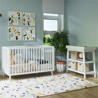 Novogratz Harper 3-in-1 Convertible Baby Crib