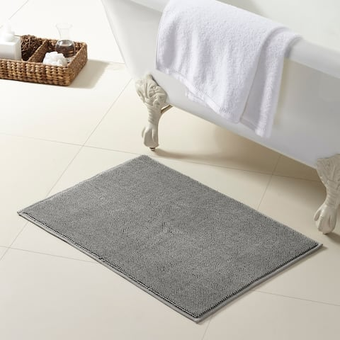 Modern Threads 100-Percent Turkish Cotton Bath Rug
