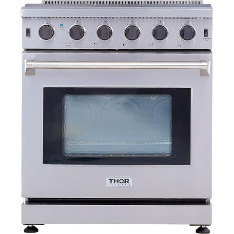 """Thor Kitchen - 30"""" Professional Gas Range in Stainless Steel"""